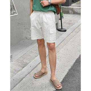 Colored Cargo Shorts