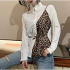 Leopard-print Shirt