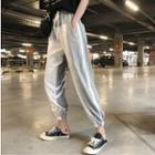 Contrast Color Harem Pants