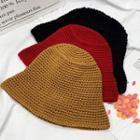 Plain Yarn Bucket Hat