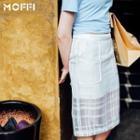 Midi Organza Skirt