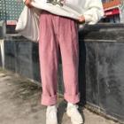 Harem Corduroy Pants