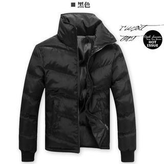 Stand-collar Padded Jacket