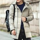 Hood Padded Long Coat