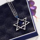 Crystal Star Long Necklace