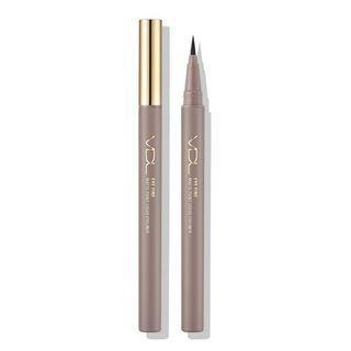 Vdl - Eye Fine Matte Point Liquid Eyeliner - 2 Colors #01 Deep Brown