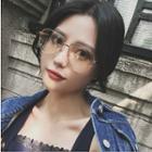 Metal Frame Oversized Glasses