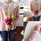 Lightweight Faux-pearl Buttoned Cardigan