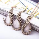 Set: Waterdrop Necklace + Earrings