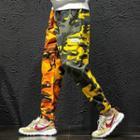 Leopard Pattern Cargo Pants