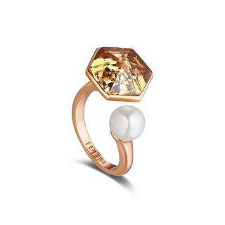 Swarovski Element Crystal Open Ring