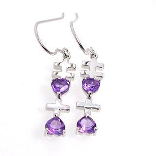 Amethyst Xixi Earrings