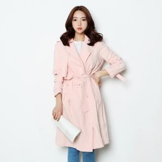 Trench Coat With Sash