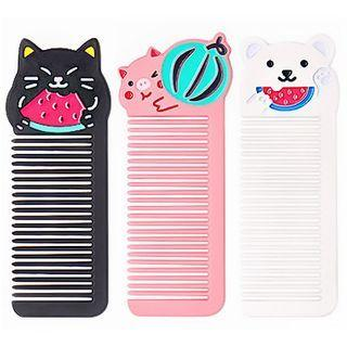 Cartoon Animal Hair Comb (various Designs)