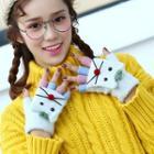 Animal Half Finger Gloves
