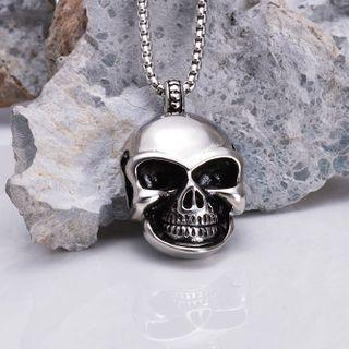Skull Stainless Steel Pendant / Necklace
