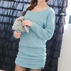Long Sleeves Perforated Dress