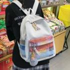 Canvas Doll Charm Backpack