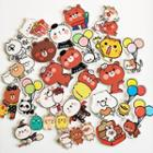 Acrylic Cartoon Animal Brooch (various Designs)