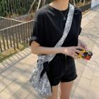 Loose-fit Cotton T-shirt In 10 Colors
