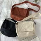 Simple Canvas Crossbody Bag