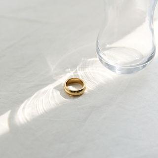 Metallic Ring One Size