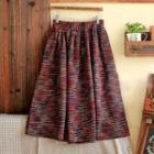 Melange A-line Skirt