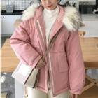 Padded Zip-up Hooded Jacket