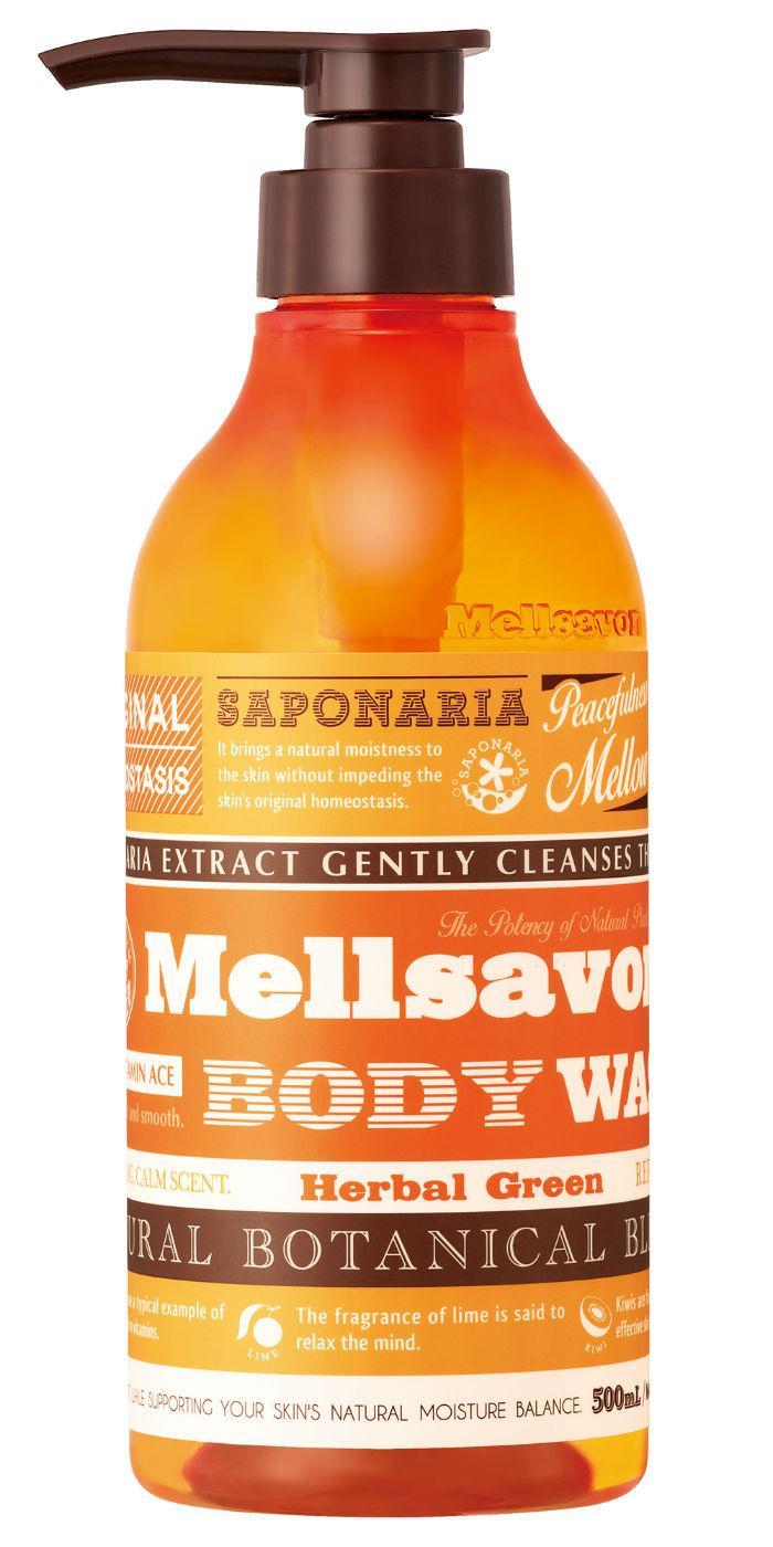 Mellsavon - Body Wash Herbal Green 500ml
