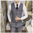 Herringbone Dress Vest