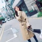 Slit Trench Coat