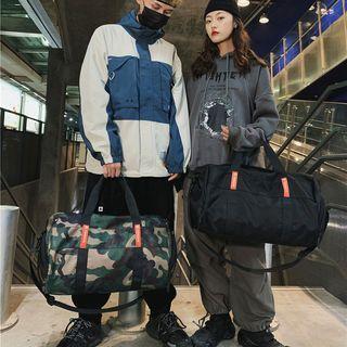 Nylon Camo Carryall Bag