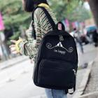 Print Oxford Backpack