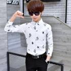 Slim-fit Patterned Shirt