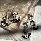 Marble Earring / Clip-on Earring