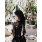 Short-sleeve Sequined Dress / Top
