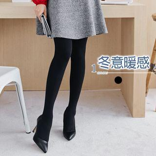 Partial Fleece Lined Tights