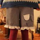 Ruffle Trim Shorts