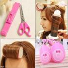 Hair Rollers / Hair Cutting Scissors