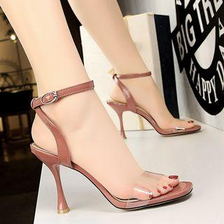 Transparent Pointy Sandals