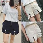 Star Slit Shorts