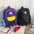 Panda Applique Lightweight Backpack
