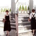 Square-neck Jumper Dress