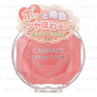 Canmake - Cream Cheek (#07 Coral Orange) 1 Pc