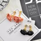 Rhinestone Rosette Earrings