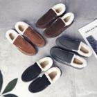Fleece-lining Stitched Loafers