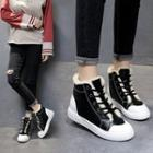 Hidden Wedge High-top Sneakers