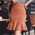 Frilled Trim Skirt