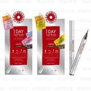 K-palette - 1 Day Tattoo Procast The Eyeliner Limited Edition 1 Pc - 2 Types