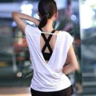 Sports Perforated Tank Top